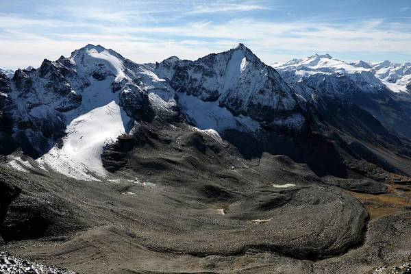 Southern Rock Photograph - Rock Glacier by Martin Rietze