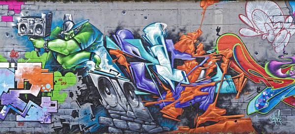 Photograph - Rock Graffito by Roberto Pagani