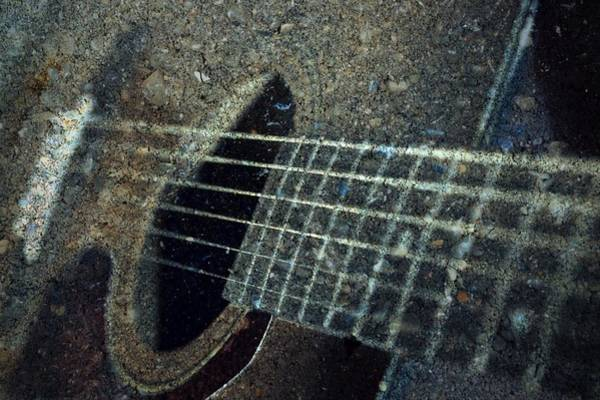 Fret Board Photograph - Rock Guitar by Photographic Arts And Design Studio