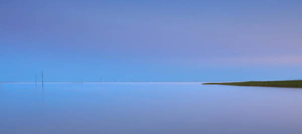 Photograph - Rock Harbor Blues by Bill Wakeley