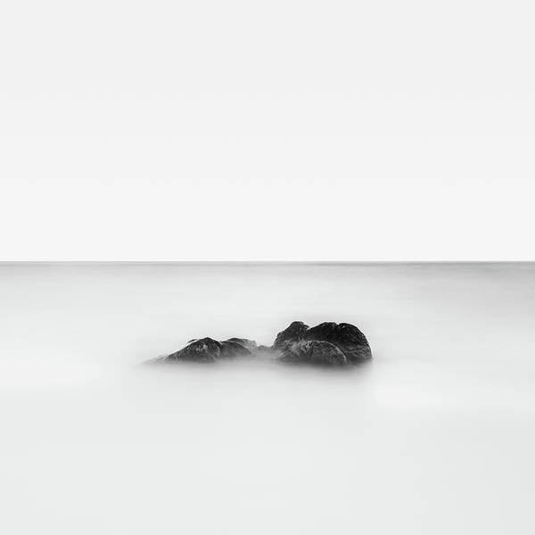 Lake Geneva Photograph - Rock In Lake by © Francois Marclay
