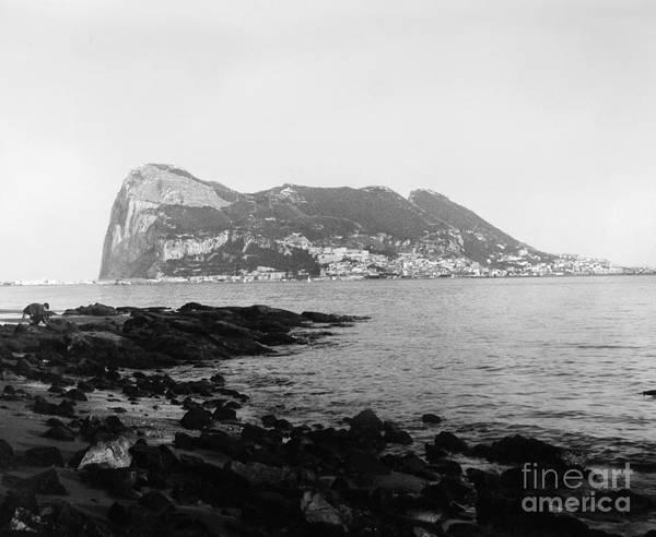 Photograph - Rock Of Gibraltar by Granger