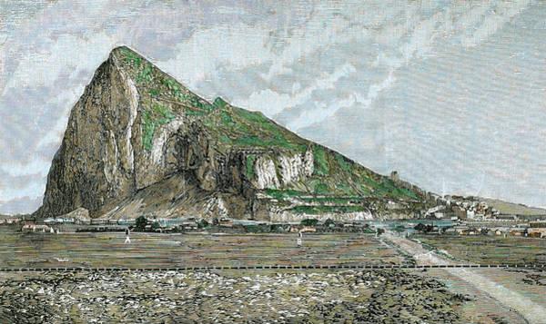 Iberian Peninsula Wall Art - Photograph - Rock Of Gibraltar by Prisma Archivo