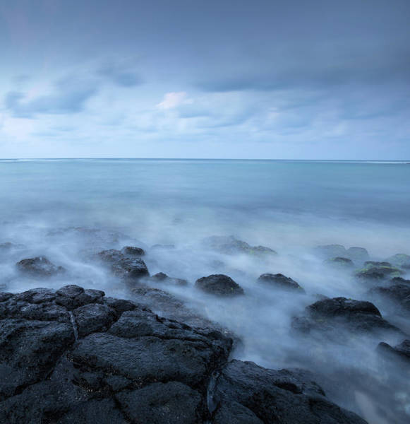 Waters Edge Wall Art - Photograph - Rock Seascape by Dan prat