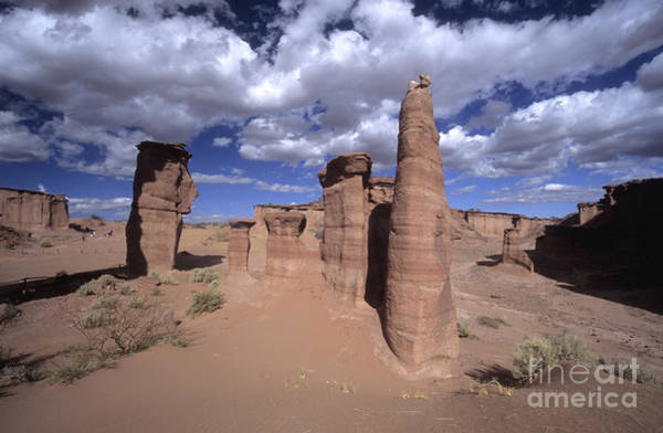 Photograph - Rock Sentinels In Talampaya National Park by James Brunker