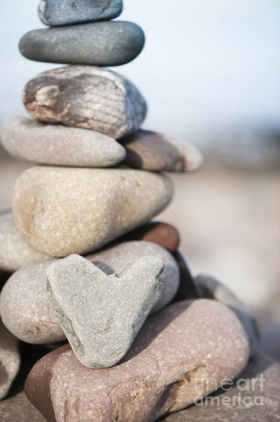 Arty Photograph - Rock Solid Love by Anne Gilbert