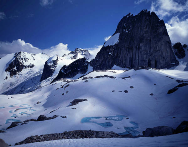 Bugaboo Photograph - Rock Spires In The Bugaboos by Christopher Herwig