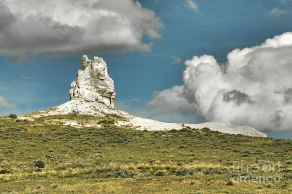 Photograph - Rock Statue by Anthony Wilkening