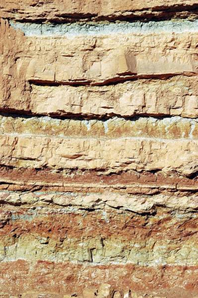 Wall Art - Photograph - Rock Strata by Photostock-israel/science Photo Library