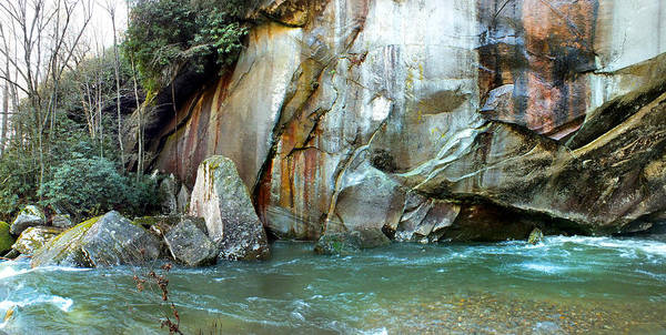 Photograph - Rock Wall And River by Duane McCullough