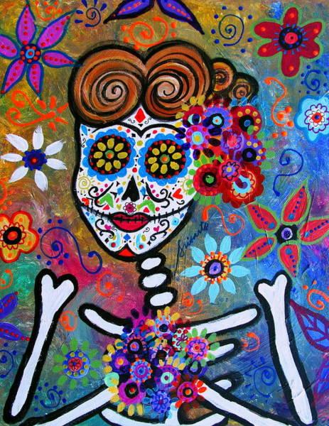 Wall Art - Painting - Rockabilly Frida by Pristine Cartera Turkus