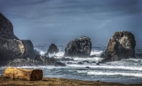 Rockaway Photograph - Rockaway Beach Shoreline Pacifica California 4  by Jennifer Rondinelli Reilly - Fine Art Photography