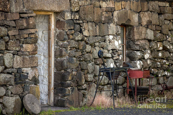 Wall Art - Photograph - Rockbuilding Sky Scotland by Iris Richardson