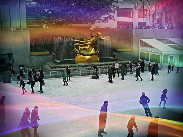 Photograph - Rockefeller Center 1y by Carlos Diaz