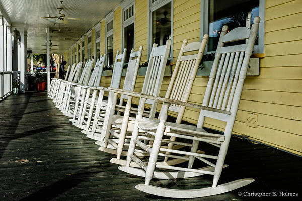 Photograph - Rocker Row by Christopher Holmes