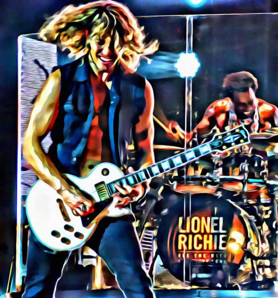 Photograph - Rockin Guitarist by Alice Gipson