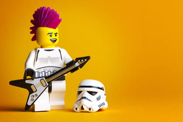 Geometric Photograph - Rockin' Out by Samuel Whitton