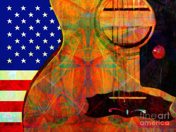 Photograph - Rockin Usa 20140716 V2 by Wingsdomain Art and Photography