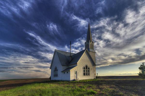 Methodist Photograph - Rocklyn Zion German Methodist Church by Mark Kiver