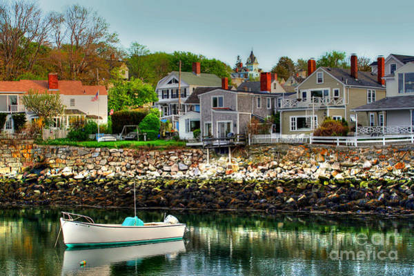 Photograph - Rockport by LR Photography