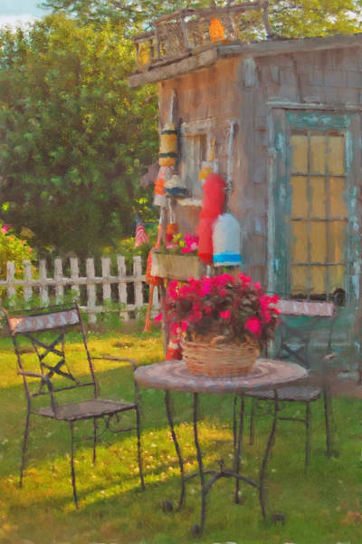 Photograph - Rockport Garden by Joann Vitali