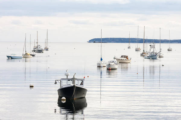Photograph - Rockport Harbor 01 by Jim Dollar