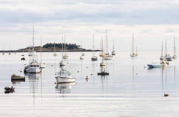 Photograph - Rockport Harbor 02 by Jim Dollar