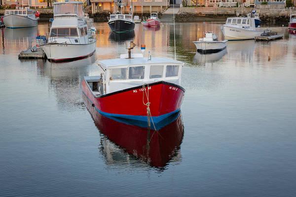 Photograph - Rockport Harbor Marina by Susan Candelario