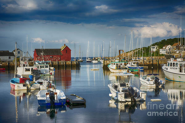 Rockport Harbor Art Print