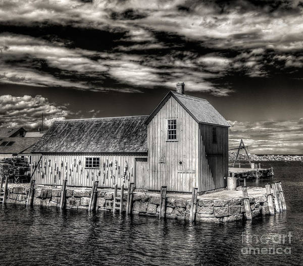 Photograph - Rockport Harbor by Steve Zimic