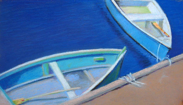 Wall Art - Painting - Rockport Skiffs by Leslie Alfred McGrath