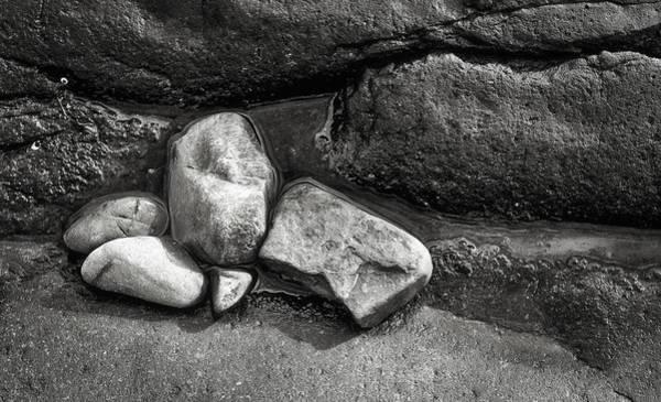 Photograph - Rocks - Marginal Way - Maine by Steven Ralser