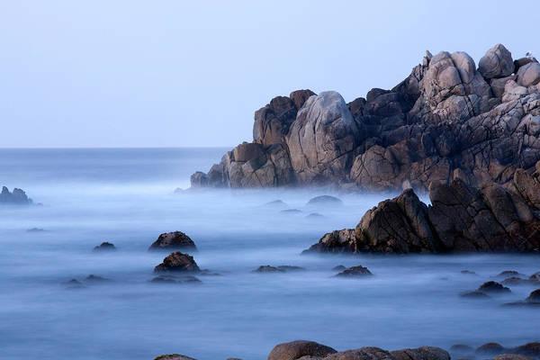 Ocean Grove Photograph - Rocks Along The Coast Of Pacific Grove by Matthew O'shea