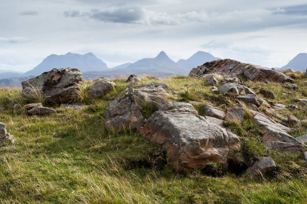 Photograph - Rocks And Mountains 2 by Gary Eason