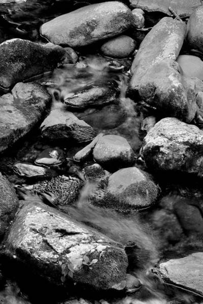 Photograph - Rocks And Water by George Taylor