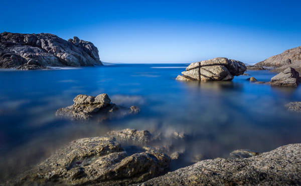 Photograph - Rocks At O Rosal by Gary Gillette
