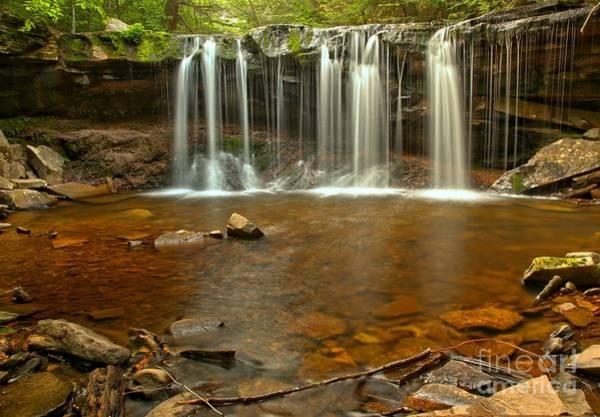 Photograph - Rocks Below Oneida Falls by Adam Jewell
