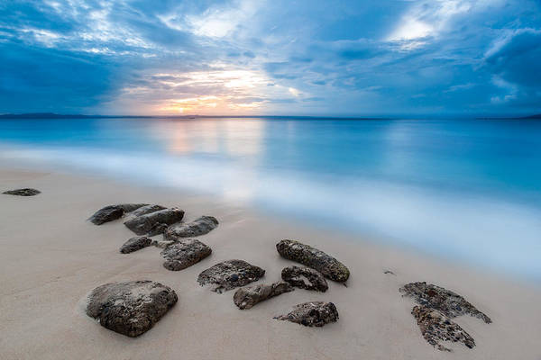 Bacardi Photograph - Rocks By The Sea by Mihai Andritoiu