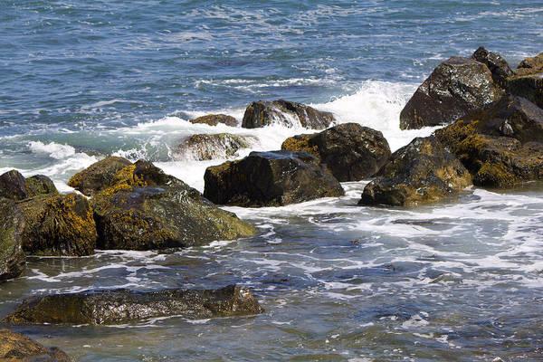 Photograph - Rocks Montauk Shore by Susan Jensen