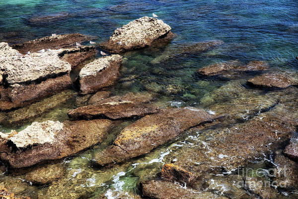 Photograph - Rocks Of Cascais by John Rizzuto
