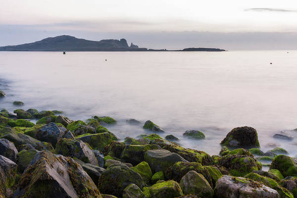 Wall Art - Photograph - Rocks Of Howth Pier And Ireland's Eye by Semmick Photo