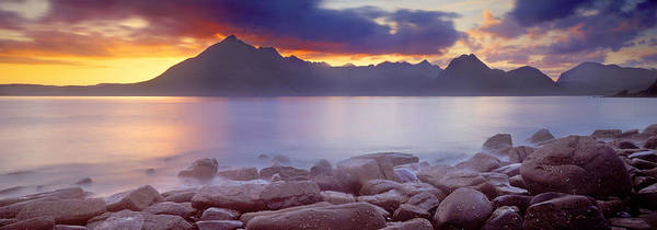 Peacefulness Photograph - Rocks On The Coast, Elgol, Loch by Panoramic Images