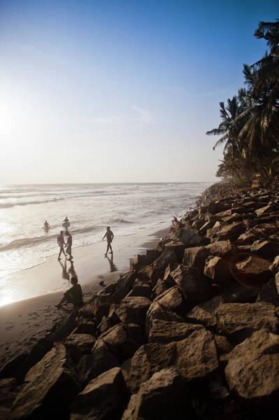 Kerala Photograph - Rocks On The Coast, Varkala, Kerala by Exotica.im