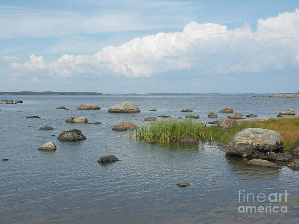 Rocks On The Baltic Sea Art Print