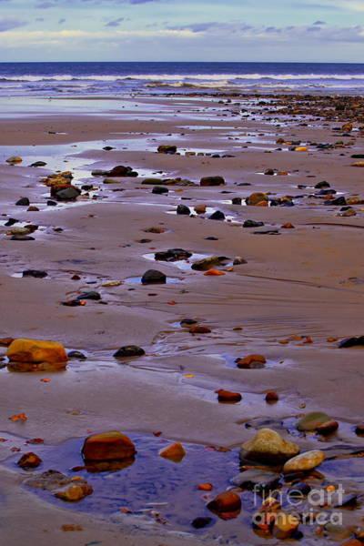 Rocks On The Seashore Art Print