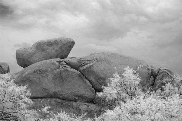 Wall Art - Photograph - Rocks Under Ir Sky by Michael McGowan