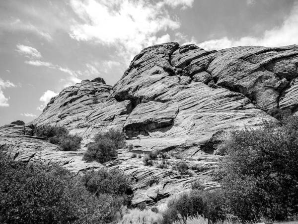 Photograph - Rockscape In Greys by Denise Bird