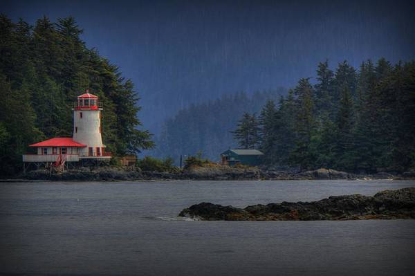 Photograph - Rockwell Lighthouse Sitka Alaska by Ryan Smith