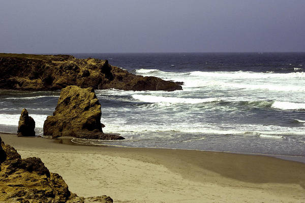 Photograph - Rocky Beach Mendocino by William Havle