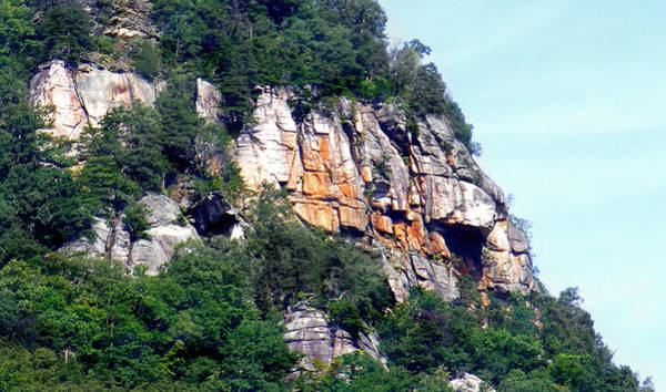 Photograph - Rocky Cliff Near Chimney Rock by Duane McCullough